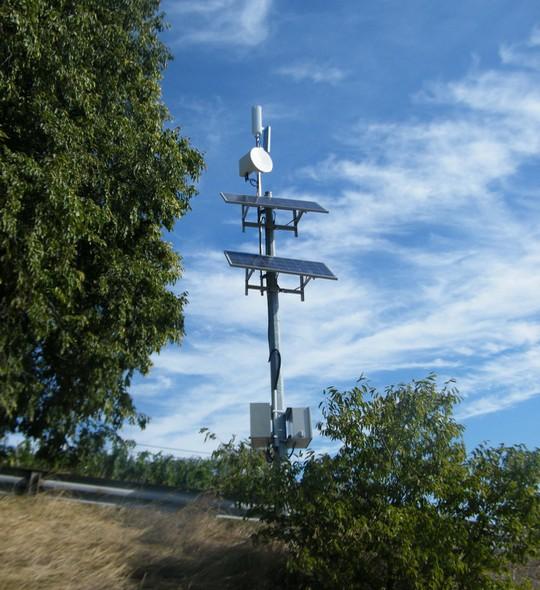 Relais Wifi 20 Mbit/s déployé par Alsatis en Isère