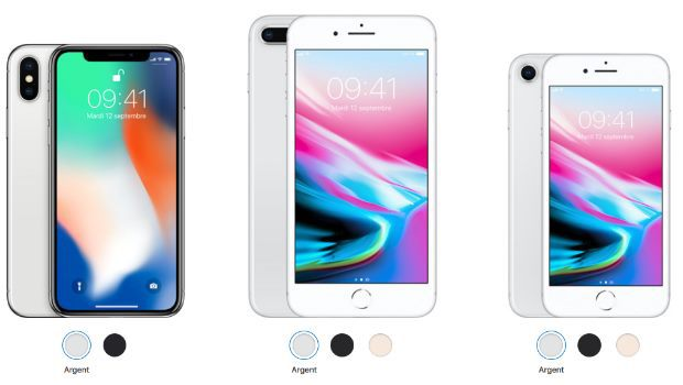 iphone 8, 8 Plus ou X