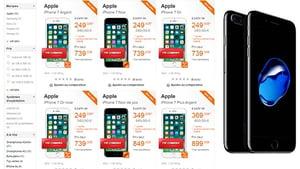 iPhone 7 chez Orange