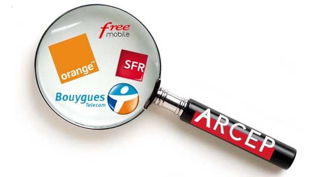ARCEP : les quatre opérateurs sont visés par les enquêtes