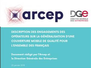 l'Arcep présente l'accord opérateurs télécoms / Gouvernement devant l'Assemblée Nationale