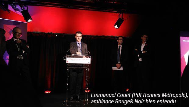 Emmanuel Couet (Pdt Rennes Metropole)