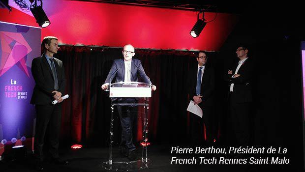 Pierre Berthou (Pdt French Tech Rennes St Malo)