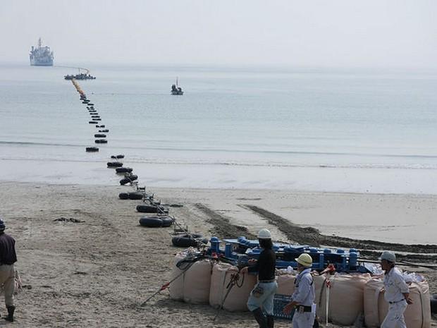 La fibre optique arrivera sur une plage du Japon