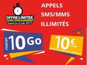 Promotion Auchan Telecom pendant 12 mois