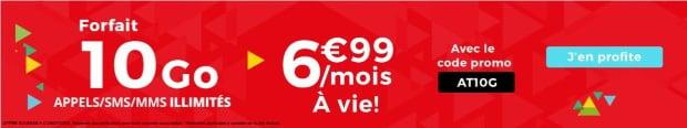 Forfait mobile en promo chez Auchan
