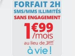 Auchan Télécom : 1,99/mois à vie