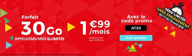 Petits prix Internet + mobile chez SFR
