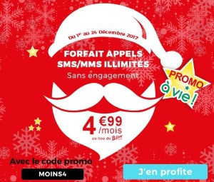 Auchan Telecom : forfait appels en promo à vie