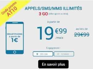 2 promos sur les forfaits Auchan avec mobile