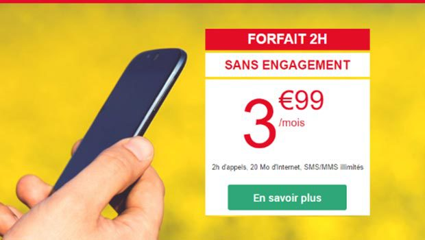 Les forfaits sans engagement Auchan Telecom à partir de 3,99€/mois