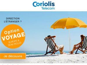 coriolis avantage voyage