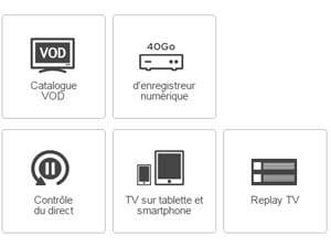 avantages TV