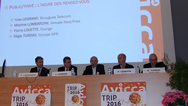 Yves Legrand - Bouygues Telecom, Maxime Lombardini - Iliad / Free, Pierre Louette - Orange, Régis Turrini SFR