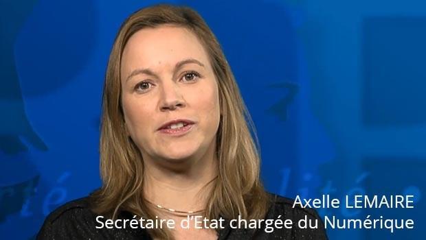 Axelle Lemaire, Secrétaire d'Etat chargée du numérique