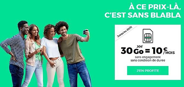 RED by SFR : boost de data à petit prix