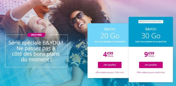 Forfait Bouygues en promo