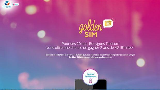 Le jeu Bouygues Telecom pour gagner 700 cartes SIM data tout illimité
