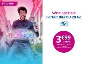 Le forfait 20 Go de Bouygues à 3,99€
