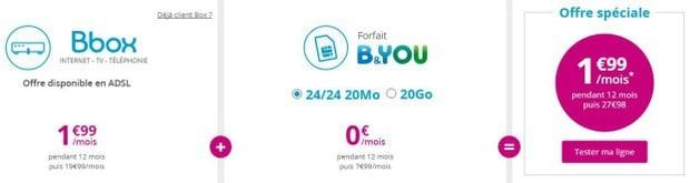 Bouygues : Internet + mobile pas cher
