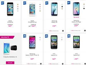 Promotions smartphones chez B&YOU