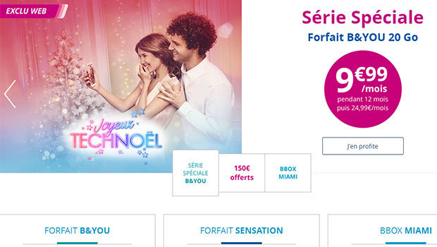 Bouygues Telecom et ses promo B&You