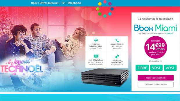 Bouygues Telecom cartonne avec sa Bbox Miami'