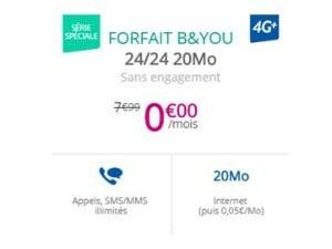 Internet + mobiile pas cher chez Bouygues Telecom