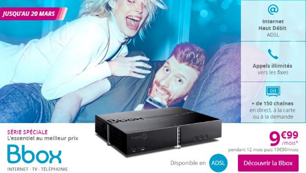 Bouygues : Internet ADSL avec Bbox en promo
