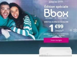 Bouygues : promo Internet édition spéciale