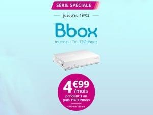 Promotion sur la Bbox Bouygues