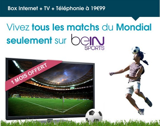 BeIN Sports sur la Bbox