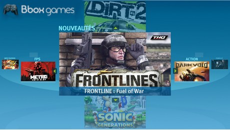 Bbox Games : le service de jeux vidéos sur la Bbox Sensation