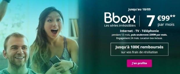 Bbox Bouygues en promo