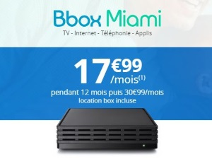 Internet bouygues location box comprise