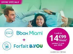 Bbox Miami+ et B&You