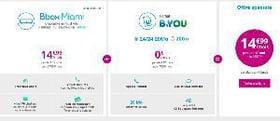 Bbox Miami+ et forfait B&You de Bouygues Telecom