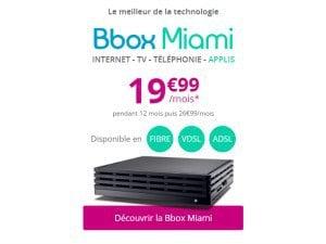Bbox Miami en ADSL et VDSL2