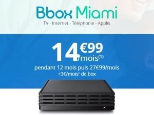 Internet Bouygues : Box Miami pas cher