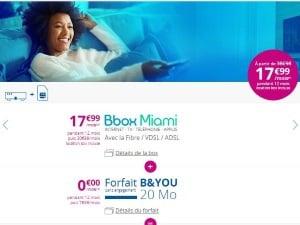 Bouygues : Offre Internet + mobile pas cher