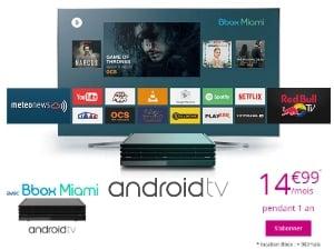 Bbox Miami : services TV