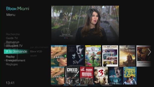 Multi-TV Miami à 6,99€/mois chez en FTTH