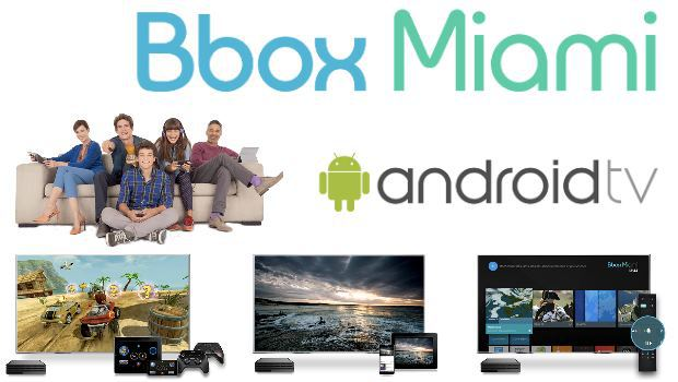 Le décodeur Android TV Bbox Miami en Multi TV
