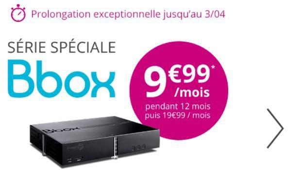 Bbox ADSL à 9,99€/mois