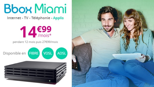 Bbox Miami en promotion