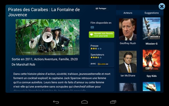 fiche film vod bouygues tv mobile