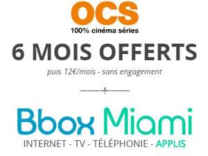 bbox miami 6 mois offerts