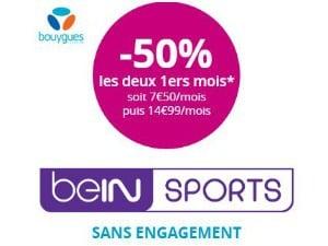 BeIN Sports en promo chez Bouygues