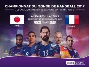 Le mondial de handball sur les chaînes BeIN Sports