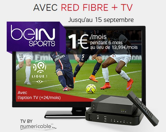 BeIN Sports et Red Fibre